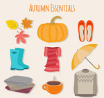 秋季元素图标