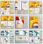 国外商务画册模板