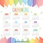 2017叶子日历