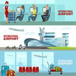 机场的等候海报