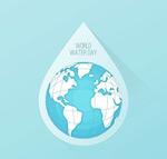 国际水资源日贺卡
