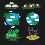 绿色地球元素