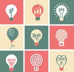 创意商务灯泡