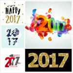 2017新年数字