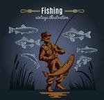 钓鱼的男人封面