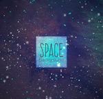 深蓝色太空背景