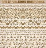 复古花纹装饰边框