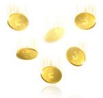 飘落的金币雨