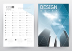 几何元素画册封面