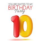 生日数字10