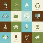 环保节约图标