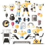 健身器械人物