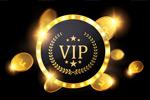 金币圆形VIP卡