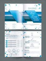 蓝色画册设计
