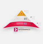 三角形信息图表