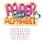 折纸大小写字母