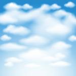 天空中漂浮的云朵