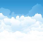 天空中的云海