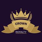 金色王冠标志标签