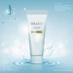 水润护肤品广告