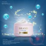 瓶装护肤品广告