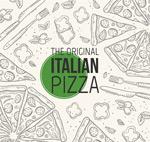 意大利披萨背景
