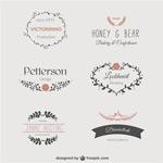 简洁婚礼logo