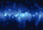 全球网络科技背景