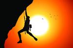 攀岩运动员矢量