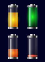 透明充电电池