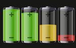 透明电池能源图标