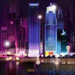 炫彩城市夜景