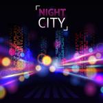 夜色下城市