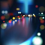 多彩城市霓虹