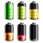 彩色立体电池