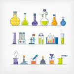 烧杯试管化学工具