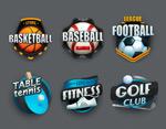 球类运动图标
