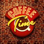 咖啡店招牌标志