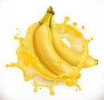 飞溅的香蕉汁