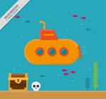 潜水艇和宝藏