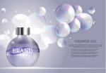 淋浴护肤品广告