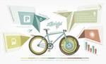 自行车信息标识