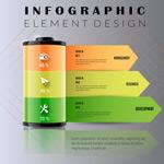 电池能源信息图表