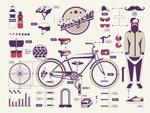 自行车信息图形