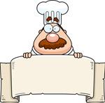 长胡子的厨师