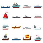 海上运输工具图标