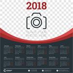 2018年全年挂历