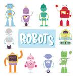 卡通玩具机器人
