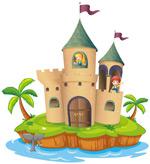 海岛上的城堡