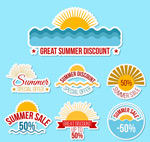 夏季销售标签